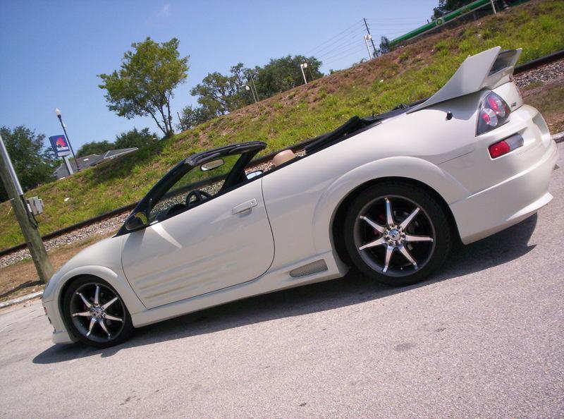 Alfred's 2001 Eclipse GT Spyder