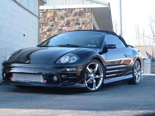 Randy's 2003 Eclipse GTS Turbo Spyder